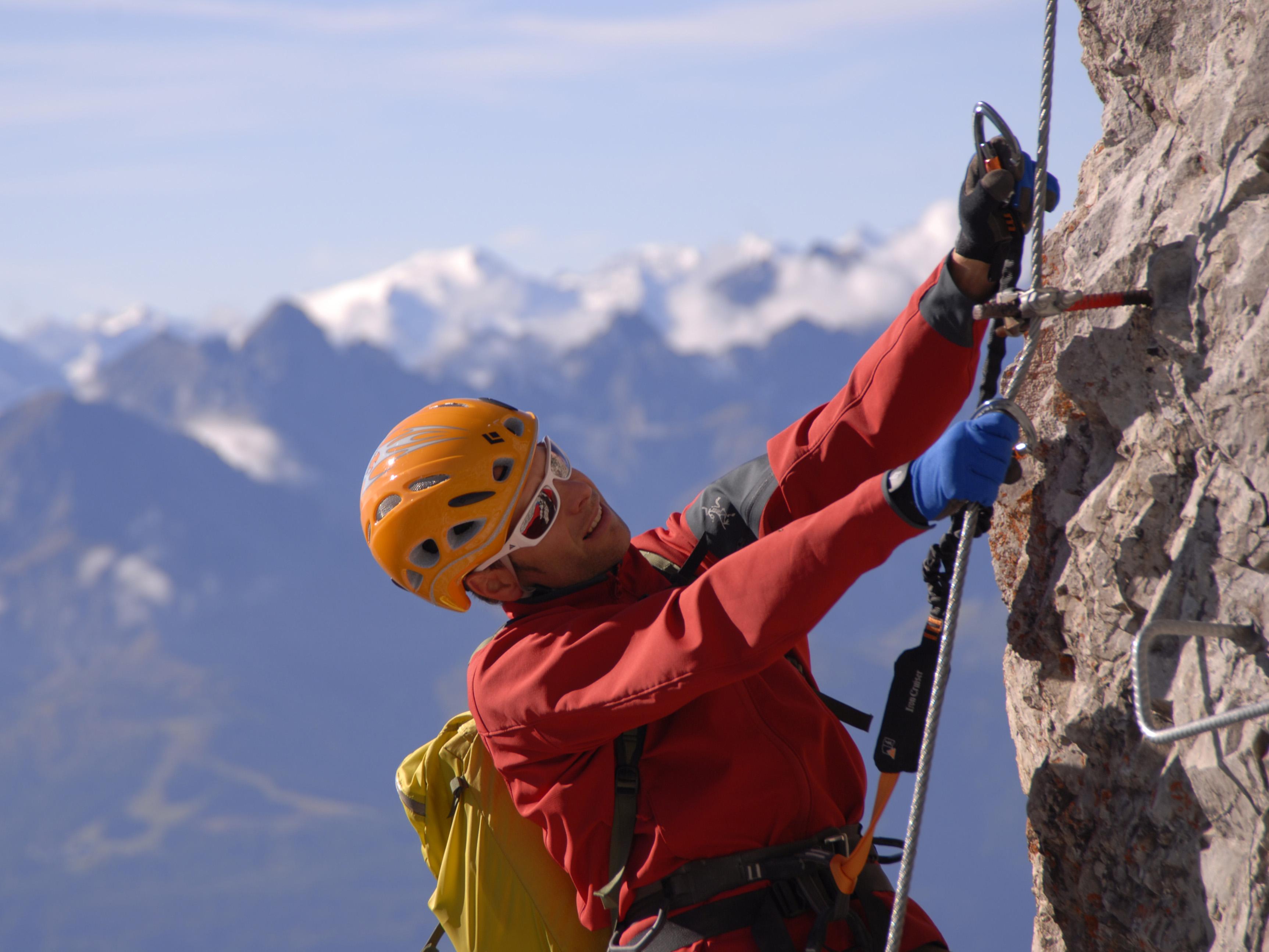 Klettersteig Englisch : Bergsteigerschule ausbildung klettersteig alpenverein