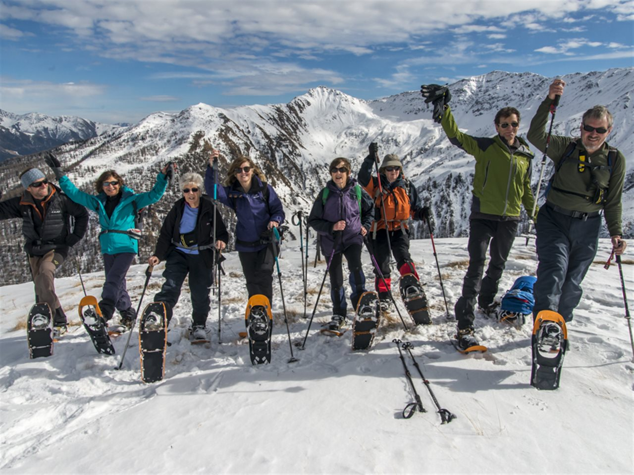 Bild zu 19-0051-01: English Speakers_GetReady Snowshoe Training
