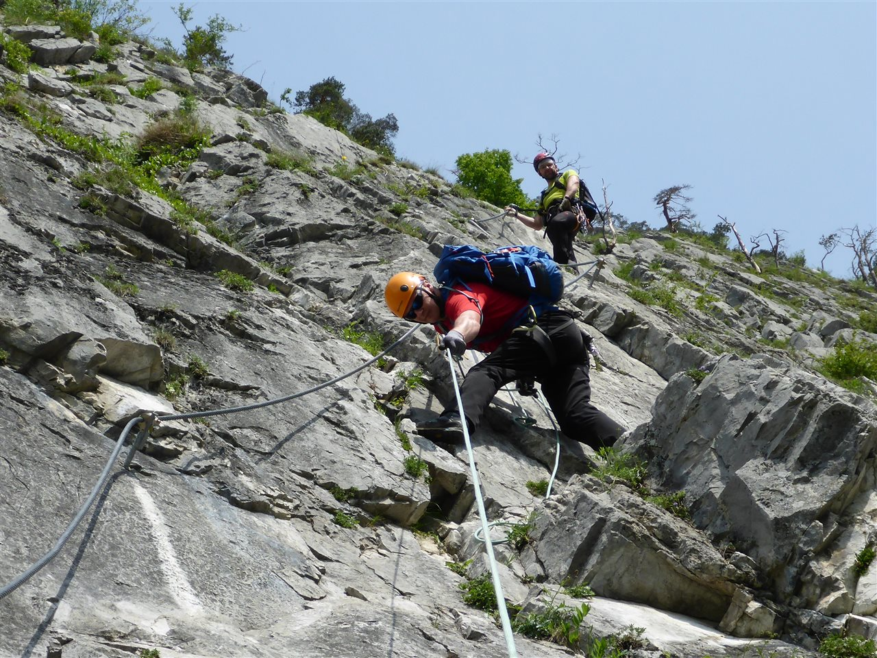 Klettersteig English : Update klettersteig alpenverein